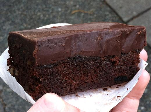 "Unfortunately, this brownie lacked in flavor and ""kapow!"""