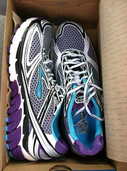 Brooks Ghost 5..what a GORGEOUS shoe.