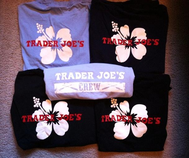 I did keep four TJ's shirts...baby steps.
