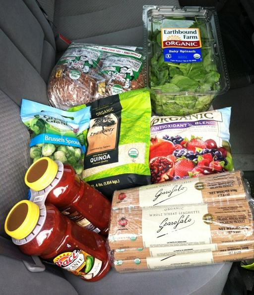 $50 worth of Costco staples.
