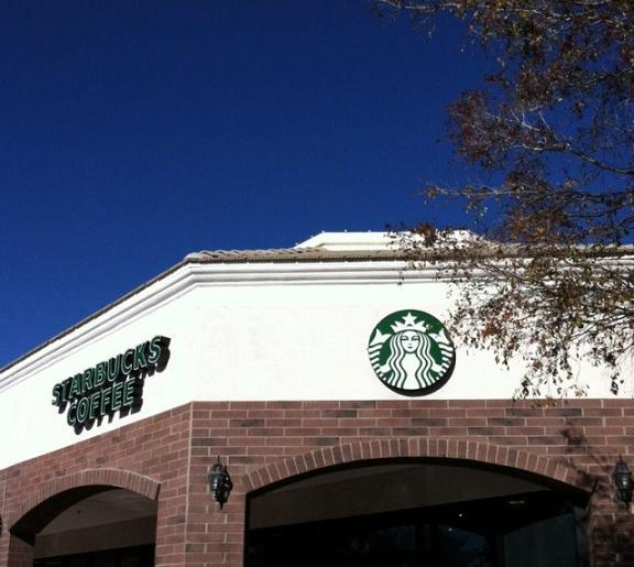 Oh look..Starbucks!