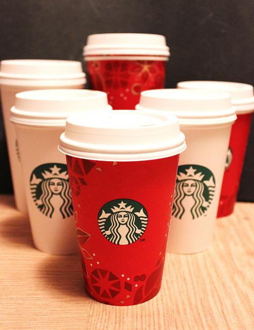 Yeah, these are all empty. Oh look, some holiday cups! Those are for the middle of summer when I am craving Christmas time.