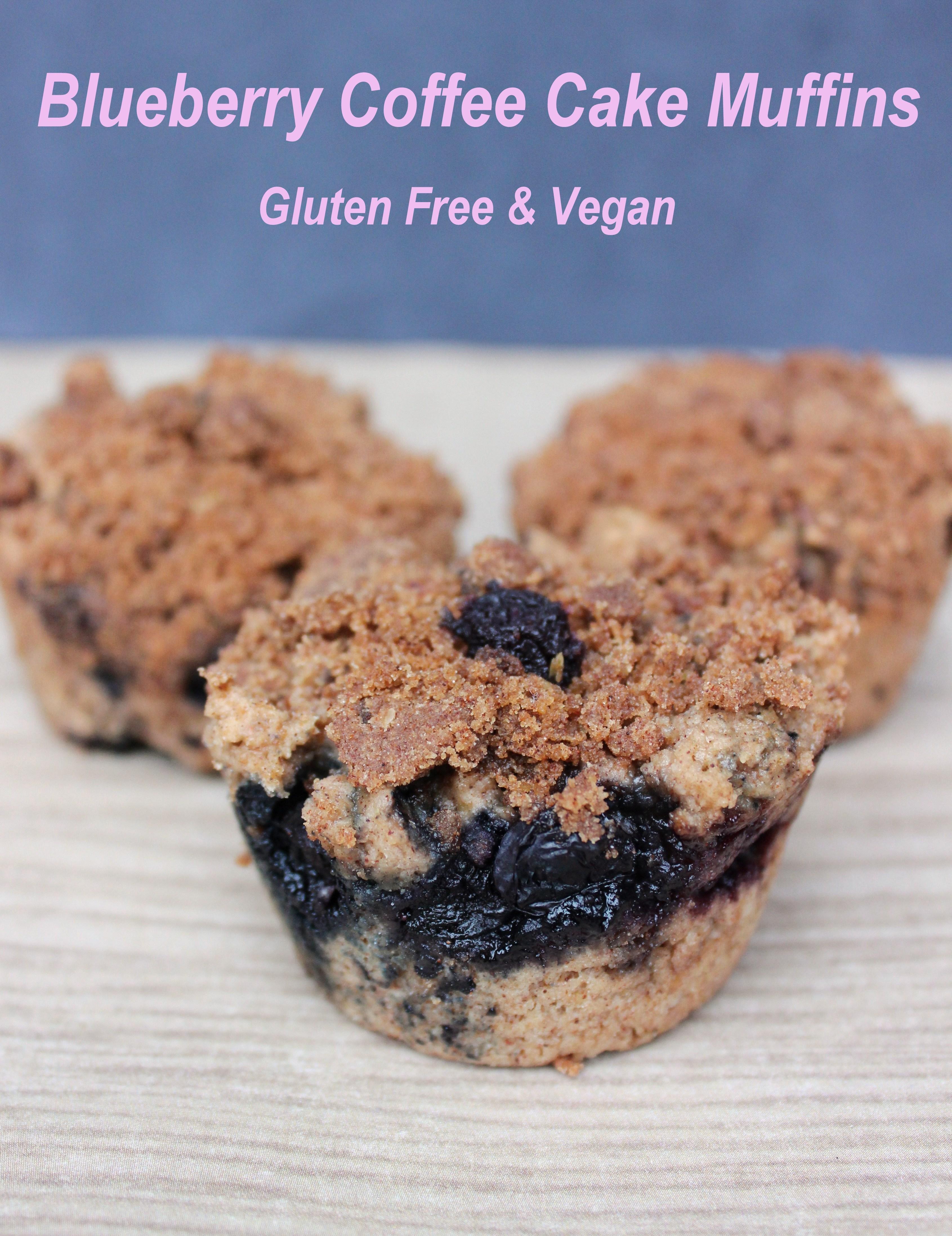 Blueberry Coffee Cake Muffins | Blissfulbritt