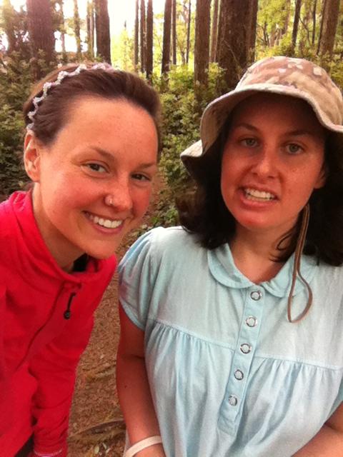 My sister and I, aka T$$.