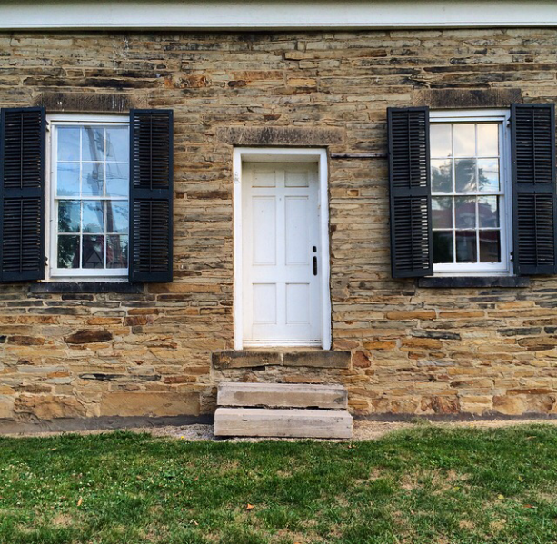 Ohio's oldest stone house.