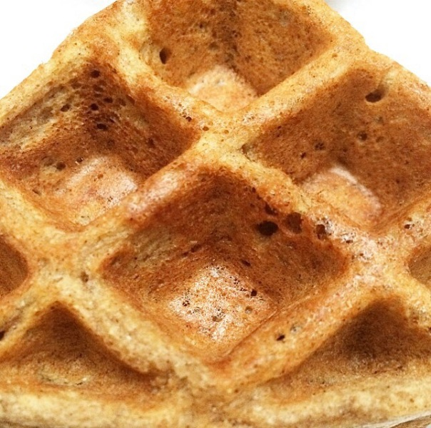 New waffle recipe that I can't stop making.