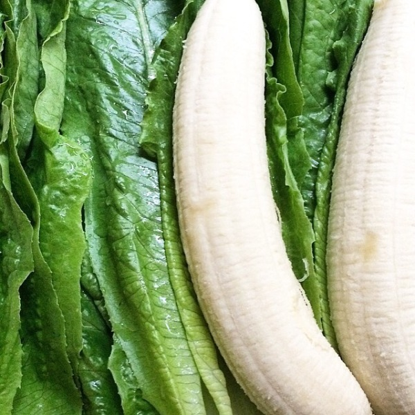 Banana lettuce wraps are a recent strange but good discovery.